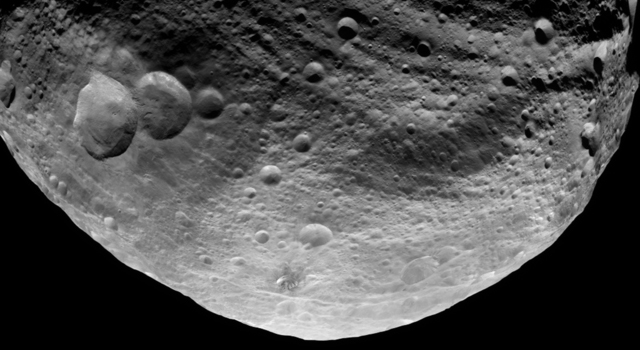 NASA's Dawn spacecraft obtained this image with its framing camera on July 23, 2011