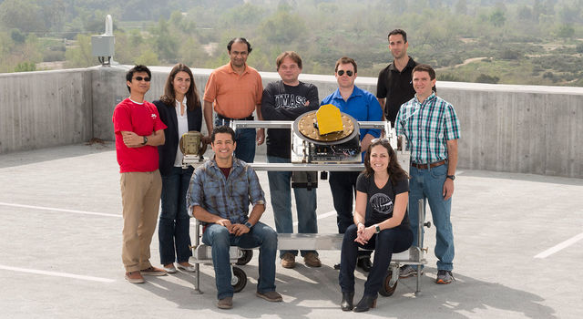 slide 3 - The team that worked on DopplerScatt at JPL