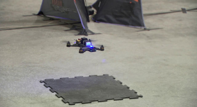 JPL engineers recently finished developing three drones
