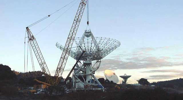 Deep Space Network under construction
