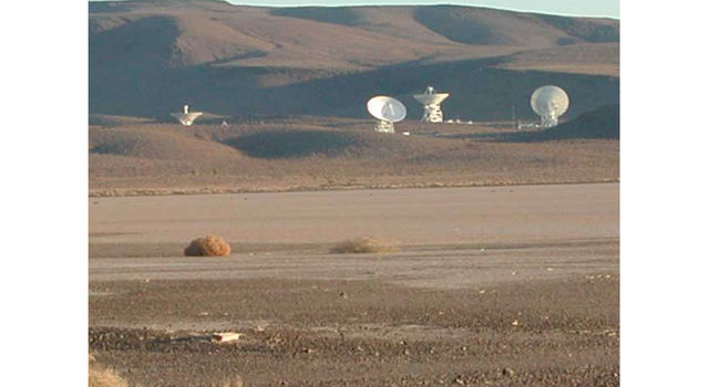Deep Space Network antennas, Goldstone, Calif.