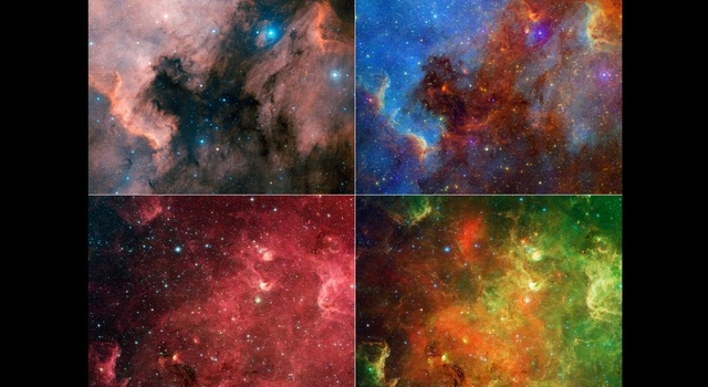 Changing Face of the North American Nebula