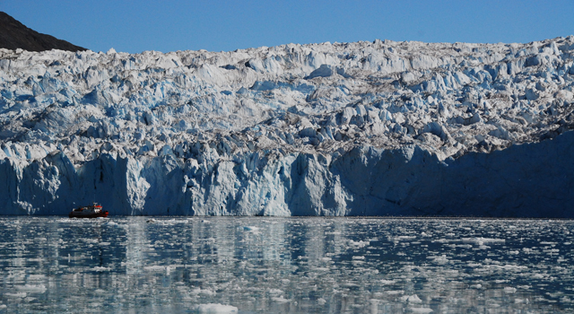 Calving front of Equp Sermia glacier, West Greenland