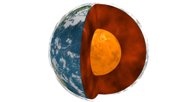A NASA/university study of data on Earth's rotation, movements in Earth's molten core and global surface air temperatures has uncovered interesting correlations.