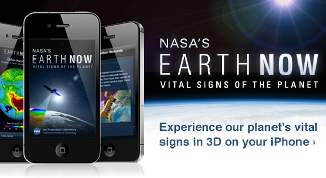 NASA's new, free 'Earth-Now' iPhone app