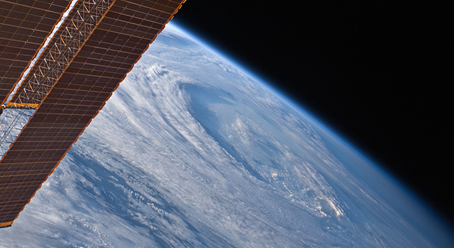 ISS-RapidScat will have a close-up view of ocean winds from its perch