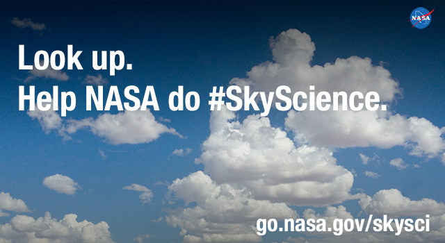 NASA is inviting people everywhere to become cloud-studying citizen scientists
