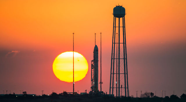 JPL's tiny Radiometer Atmospheric Cubesat Experiment will launch on this Orbital Sciences Corporation Antares rocket this afternoon.