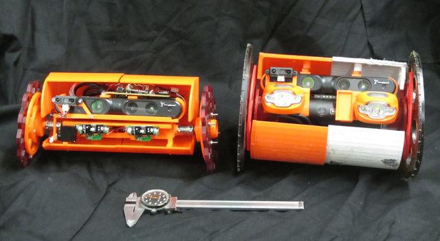VolcanoBots 1 and 2