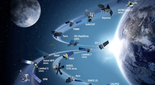Five new Earth science missions have joined NASA's orbiting fleet