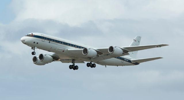 NASA's DC-8 airborne laboratory