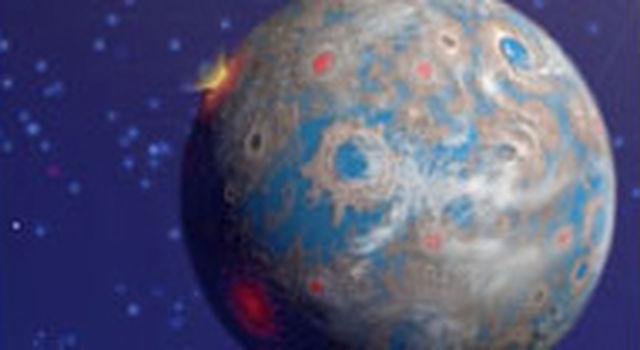Artist's concept of Earthlike planet