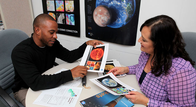 A variety of resources for educators and learners are available from the new NASA-JPL Edu website.