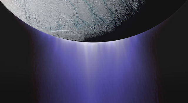 Cassini spacecraft completed its deepest-ever dive through the icy plume of Enceladus