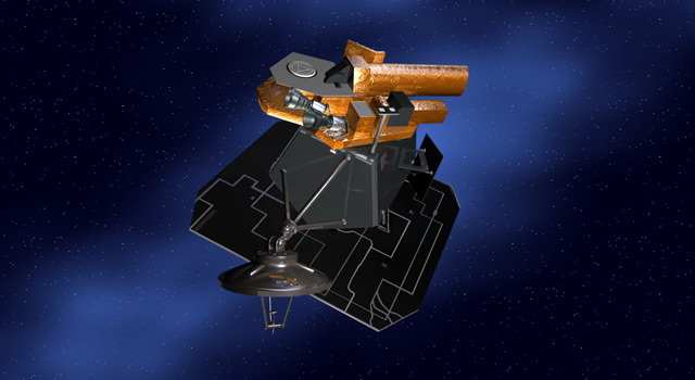 Artist's concept of the Deep Impact/EPOXI spacecraft