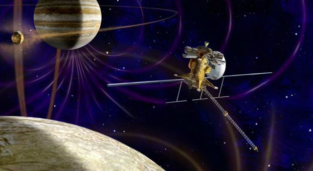 artist's concept of NASA's Jupiter Europa Orbiter