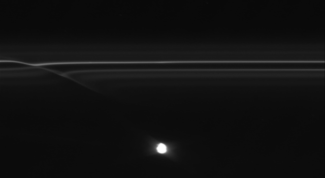 Images from NASA's Cassini spacecraft