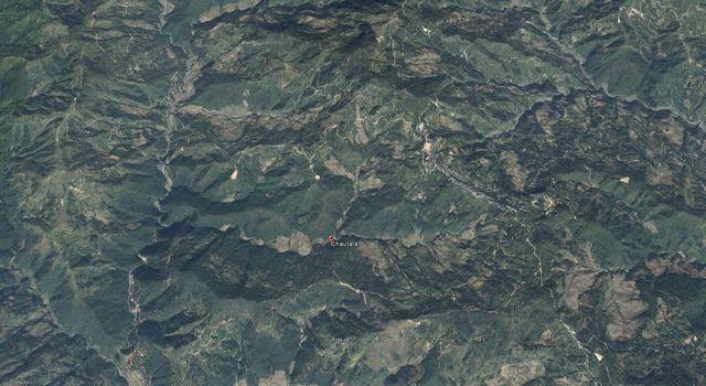 The village of Chautara, Nepal as seen from space. Image credit: Google Earth