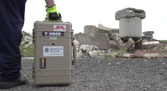 FINDER uses radar technology developed at NASA's JPL