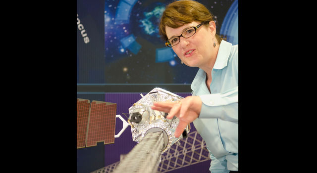 Fiona Harrison, the principal investigator of NuSTAR