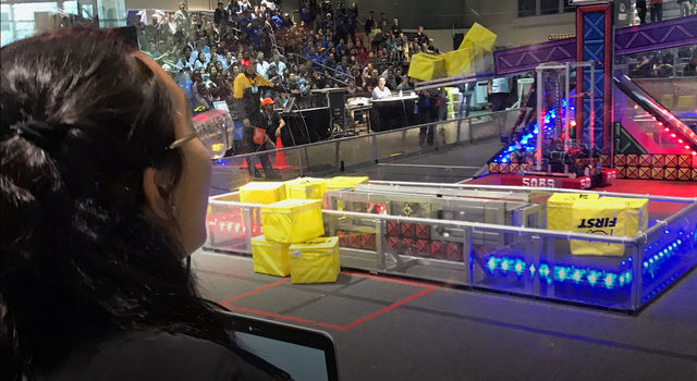 FIRST Robotics Competition in 2018