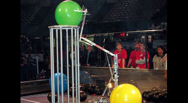 First Robotics Competition 2001