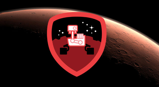 The Curiosity Explorer Badge available on Foursquare