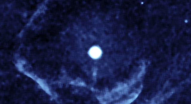 ghostly shell of ionized gas around Z Camelopardalis