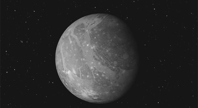 Jupiter's 'Club Sandwich' Moon