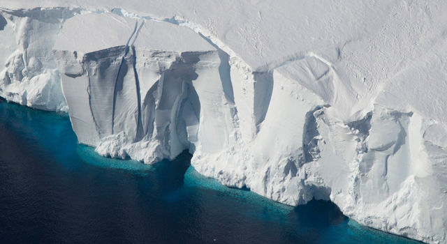 The Getz Ice Shelf in Antarctica
