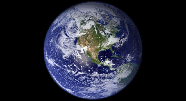 This view of Earth comes from NASA's Moderate Resolution Imaging Spectroradiometer aboard the Terra satellite