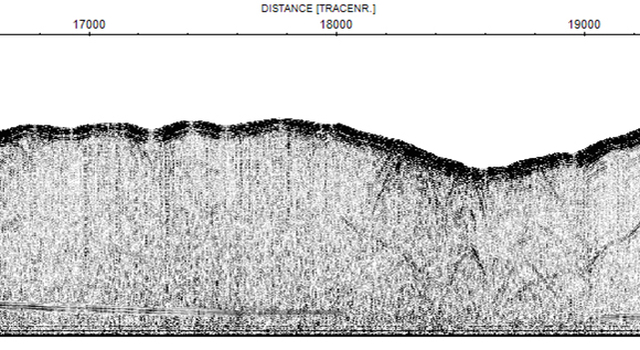 High-resolution cross section of the Umm-El-Aish aquifer