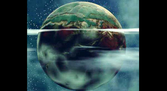 Artist's concept of Earthlink planet