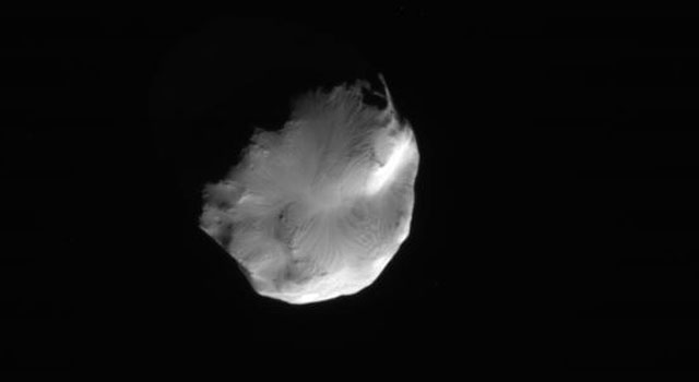 Saturn's moon Helene
