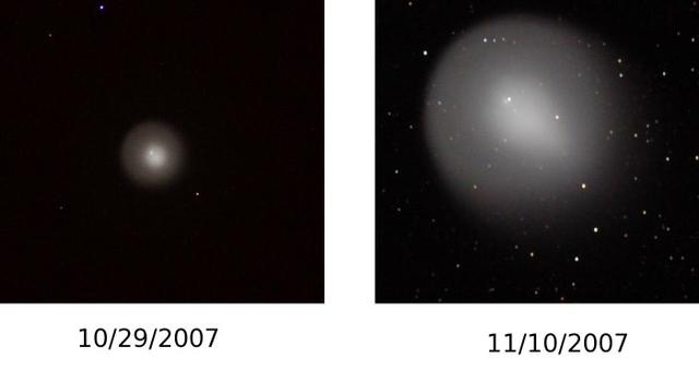 comet Holmes, taken by Gary Spiers