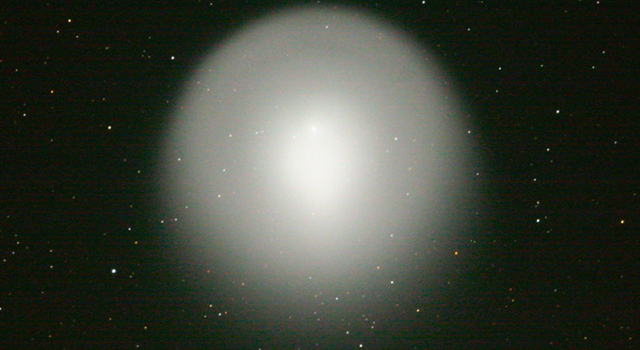 comet Holmes, taken at Table Moutain Observatory