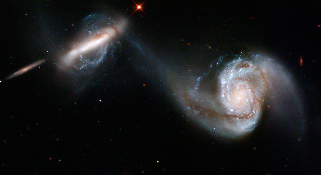 Interacting Galaxy Pair Arp 87