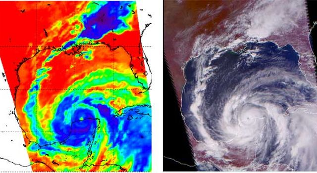 NASA Satellites Sample Hurricane ''Ingredients'' to Help Forecasters