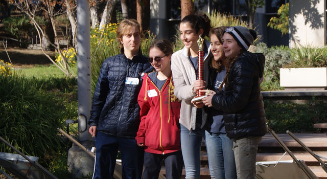 Oakwood High School's Oakwood #1 took top prize at this year's Invention Challenge at JPL