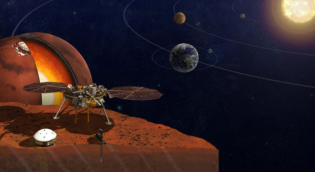 NASA's InSight lander will travel to Mars next year.