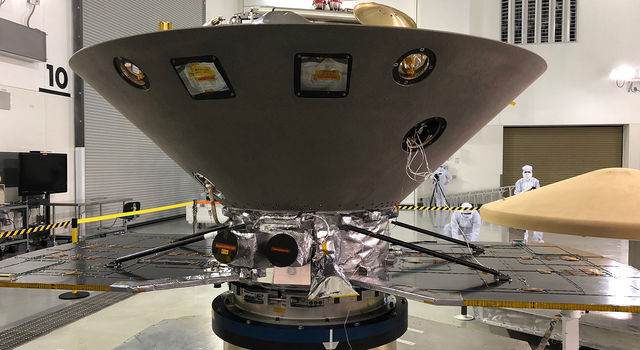 NASA's InSight to Mars undergoes final preparations at Vandenberg AFB, Calif.