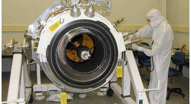 Wide-field Infrared Survey Explorer's science instrument