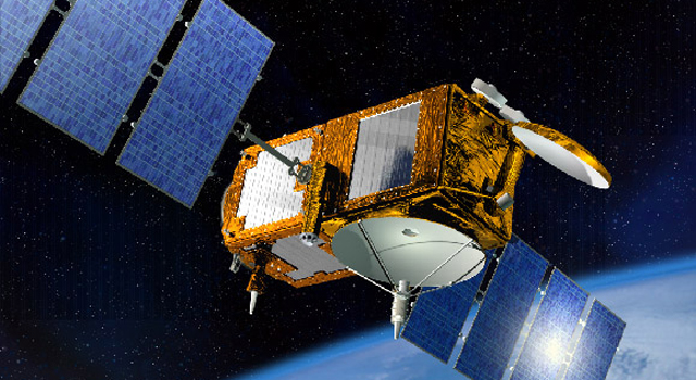 Artist's concept of the Jason 3 spacecraft