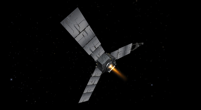 artist's concept of the Juno spacecraft