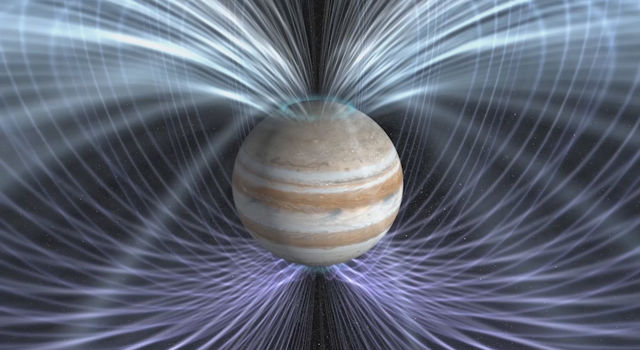 Scientists will use the twin magnetometers aboard NASA's Juno spacecraft