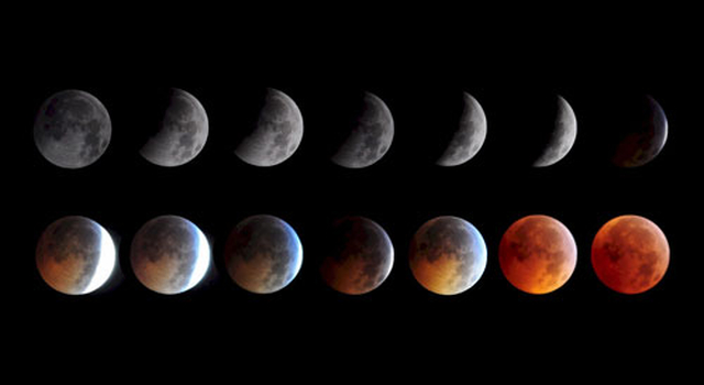 Keith Burns' photo of the December 2010 Lunar Eclipse