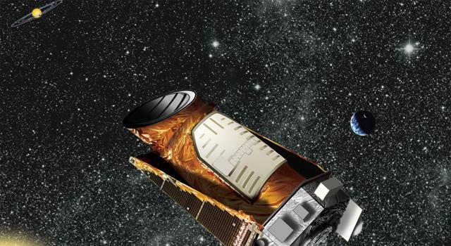 Artist's concept of NASA's Kepler space telescope.