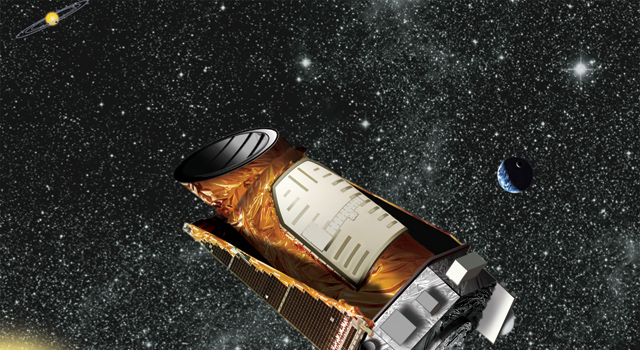 Artist's concept of NASA's Kepler space telescope
