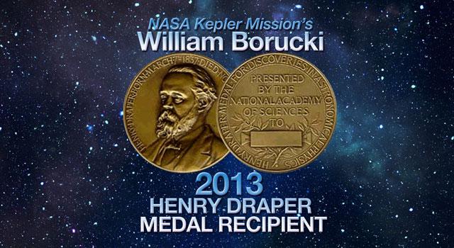 2013 Henry Draper Medal