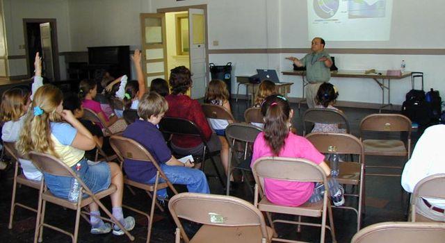 Dr. Jorge Vazquez and students